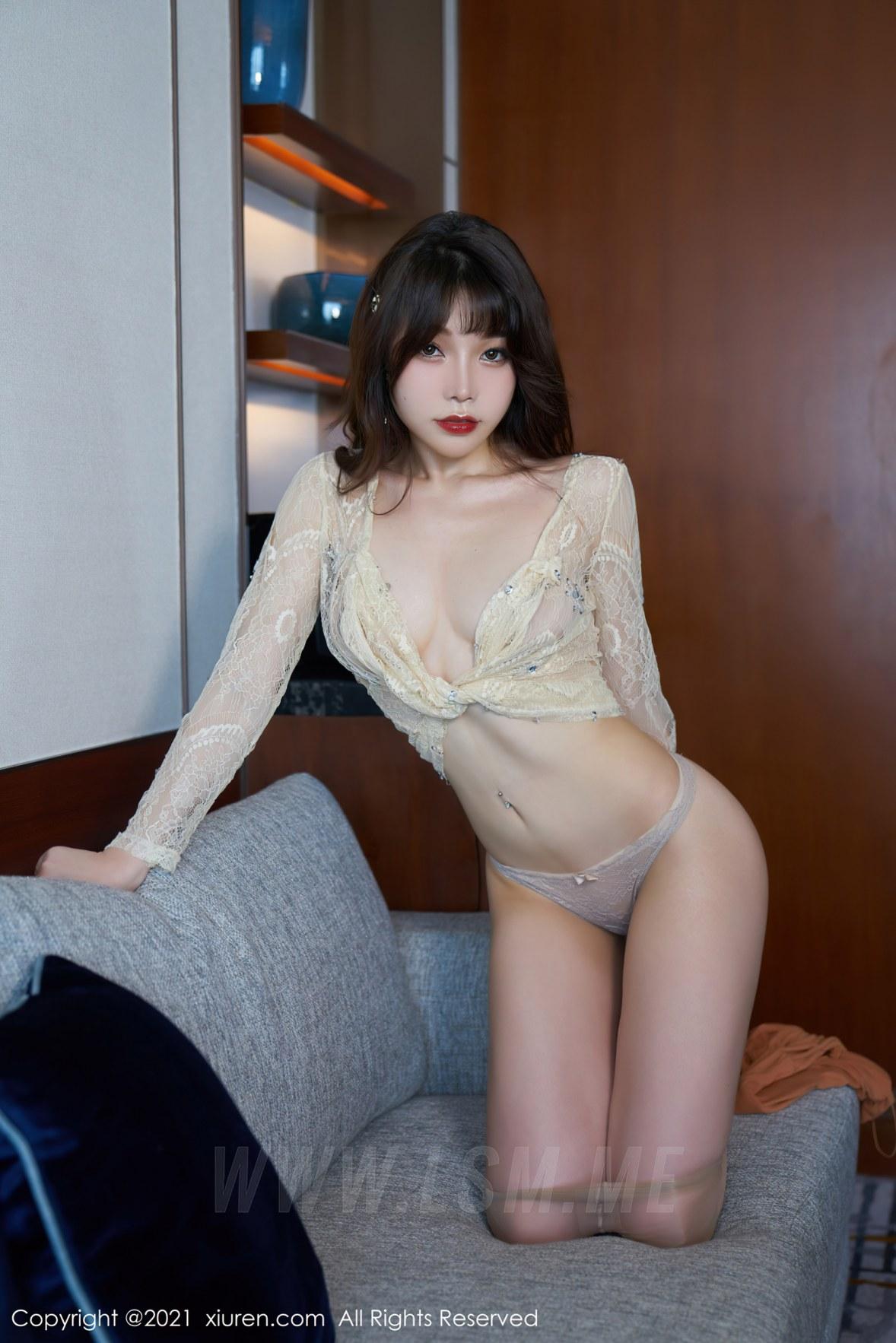 XiuRen 秀人 No.3448  魅惑吊裙 芝芝Booty 性感写真 - 4