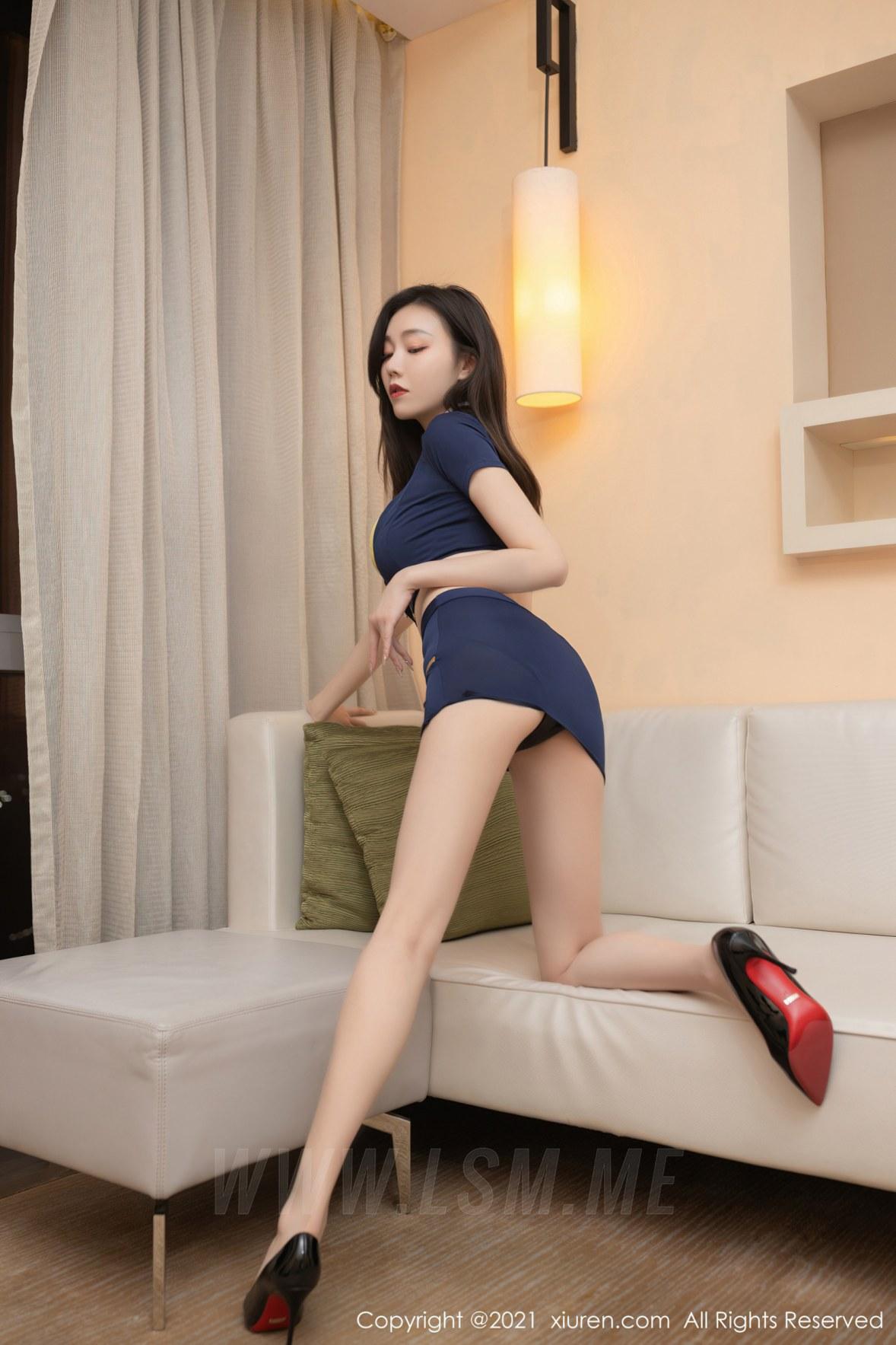 XiuRen 秀人 No.3460  情趣女警制服系列 安然Maleah 成都旅拍写真 - 4