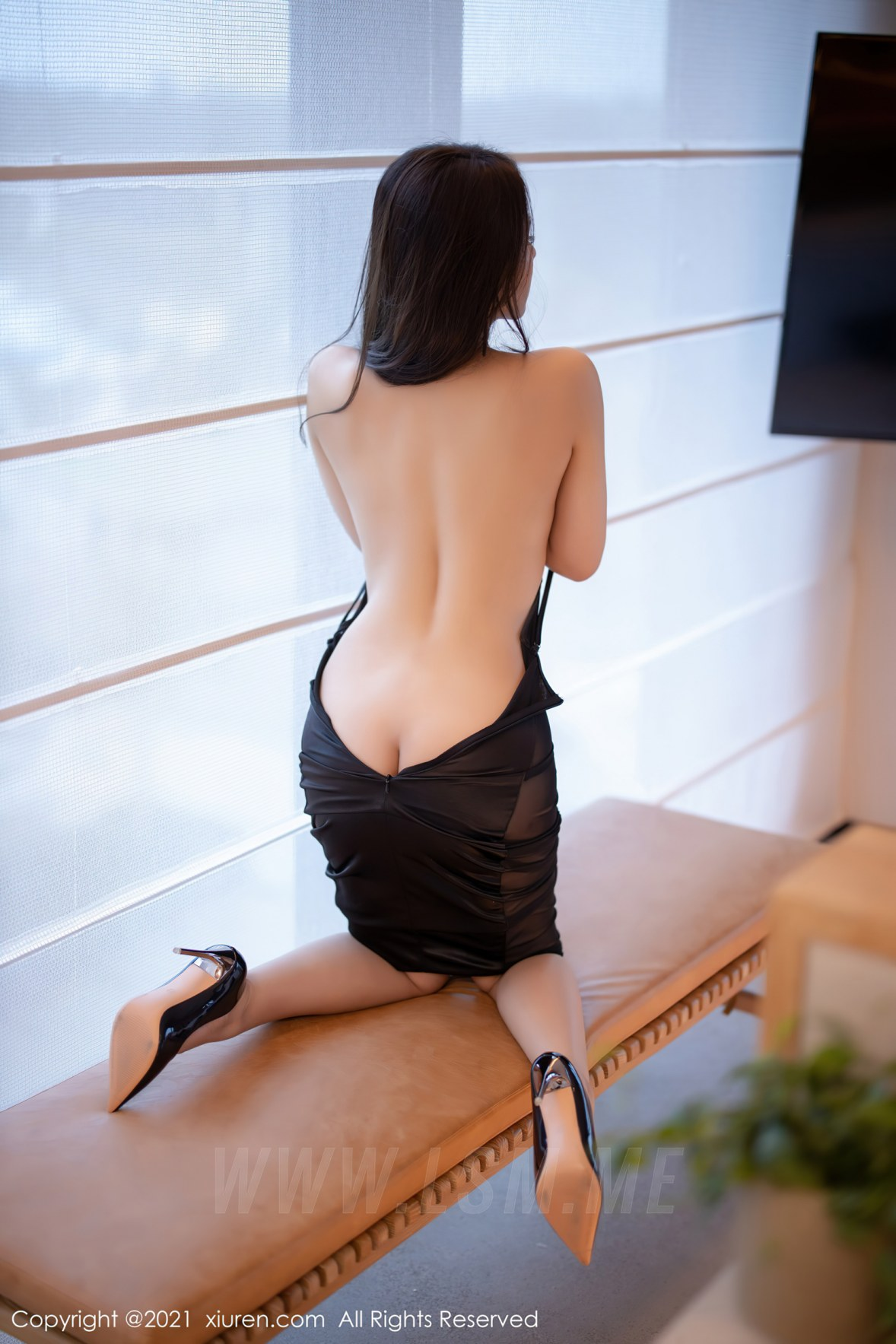 3465 035 4oq 3600 5400 - XiuRen 秀人 No.3465  黑色吊裙 徐安安 三亚旅拍写真 - 秀人网 -【免费在线写真】【丽人丝语】