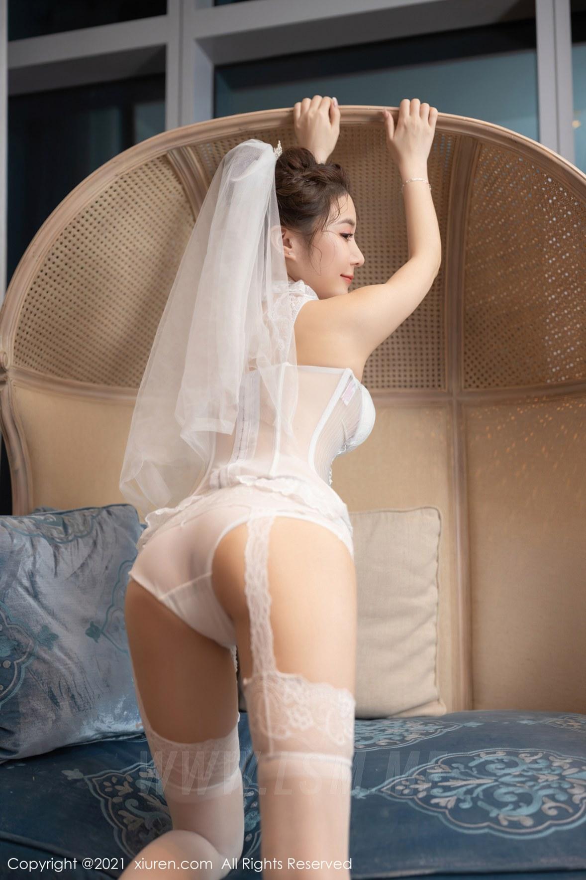 3538 020 jdd 3600 5400 - XiuRen 秀人 No.3538  新娘婚纱主题系列 鱼子酱Fish 性感写真111 - 秀人网 -【免费在线写真】【丽人丝语】