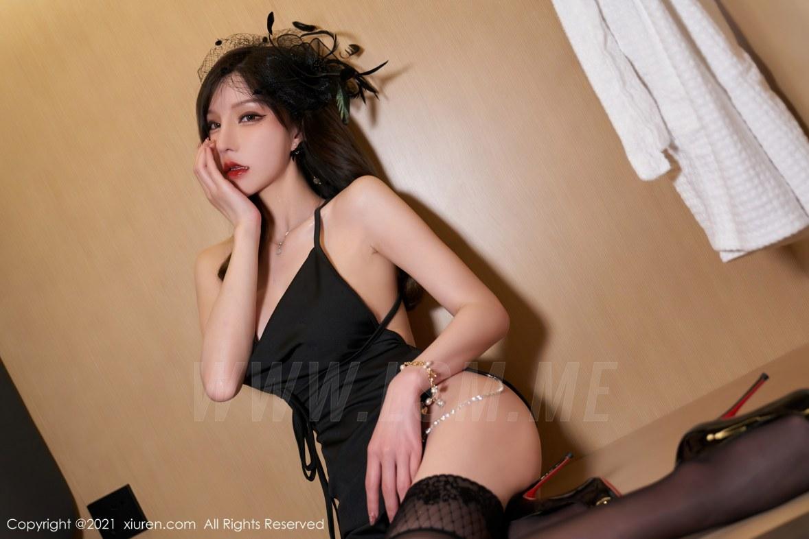3584 032 ycb 5400 3603 - XiuRen 秀人 No.3584 吊裙服饰 周于希Sandy 性感写真2 - 秀人网 -【免费在线写真】【丽人丝语】