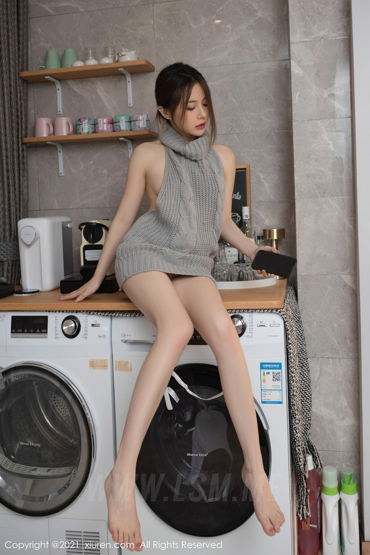 3620 039 udx 3600 5400 - XiuRen 秀人 No.3620 洗衣机维修主题 鱼子酱Fish 性感写真111 - 秀人网 -【免费在线写真】【丽人丝语】