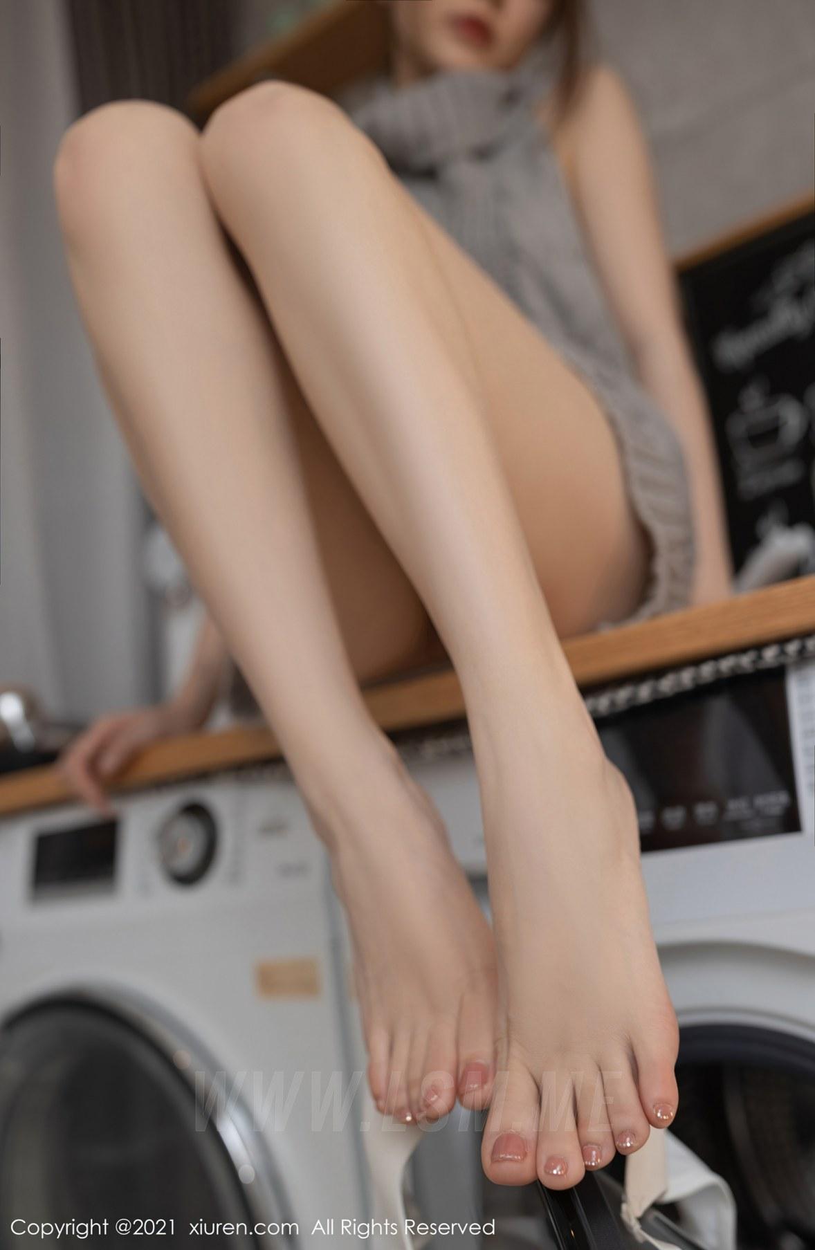 3620 047 bvr 3519 5400 - XiuRen 秀人 No.3620 洗衣机维修主题 鱼子酱Fish 性感写真111 - 秀人网 -【免费在线写真】【丽人丝语】