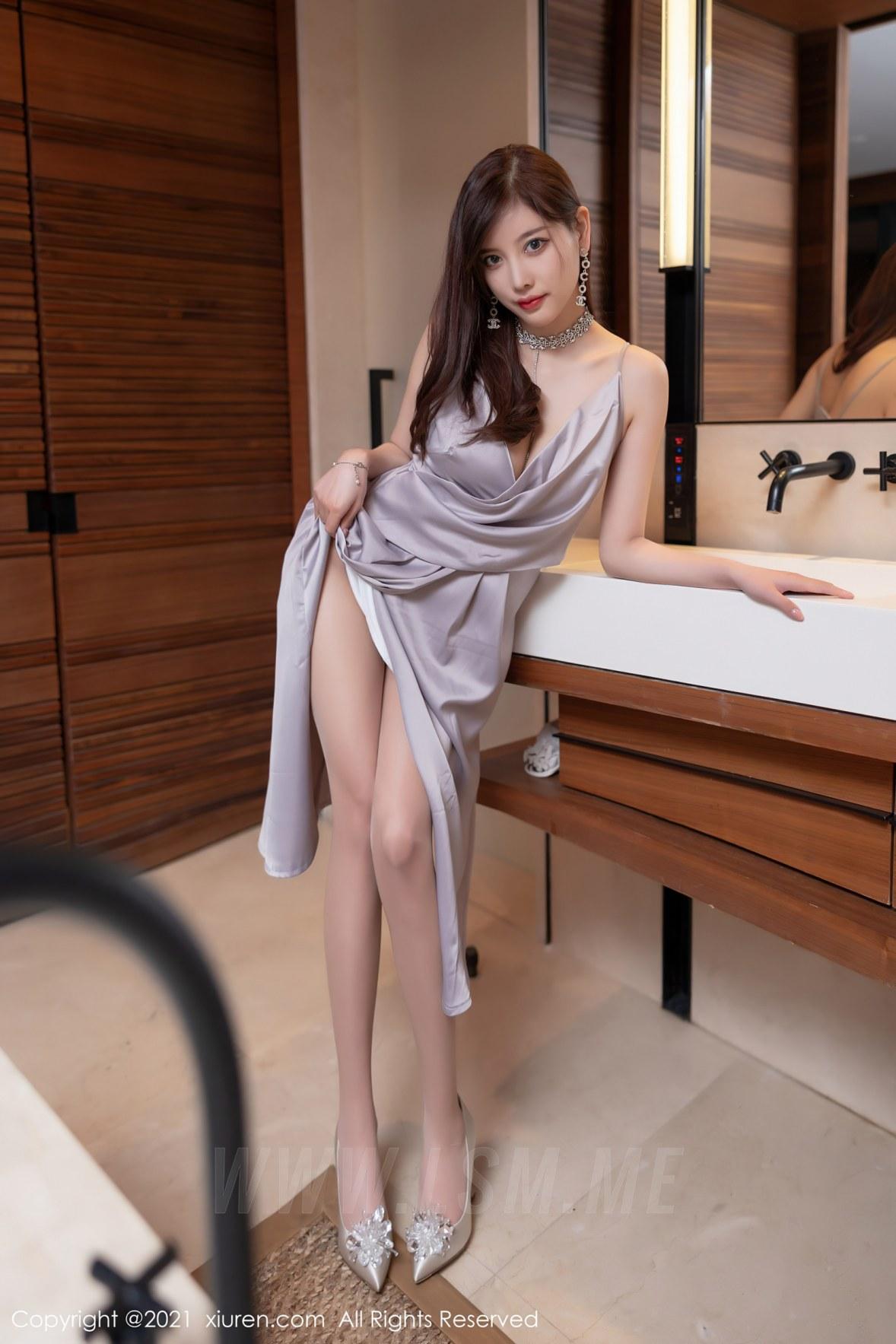 XiuRen 秀人 No.3661 性感礼裙 杨晨晨Yome 私房写真2 - 4
