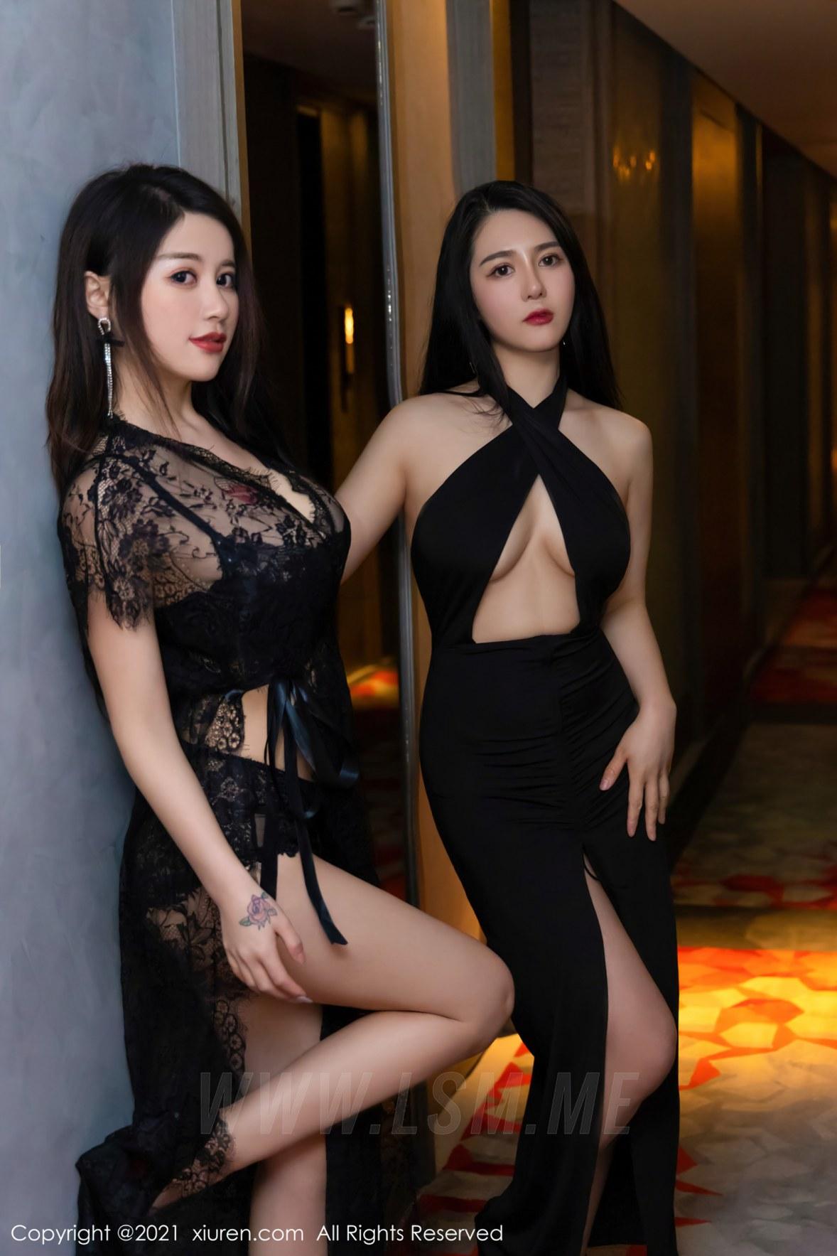 XiuRen 秀人 No.3676 模特合集 美七Mia与fairy如歌 2 - 1