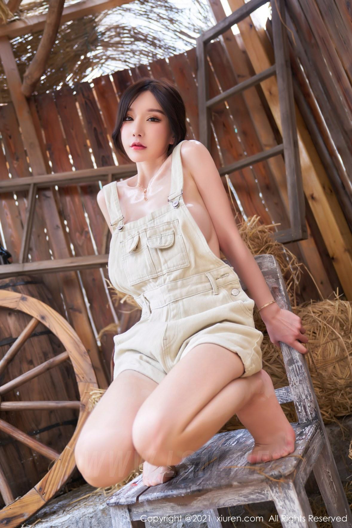 3741 030 pq5 3603 5400 - XiuRen 秀人 No.3741 西部农场风格 周于希Sandy 性感写真111 - 秀人网 -【免费在线写真】【丽人丝语】