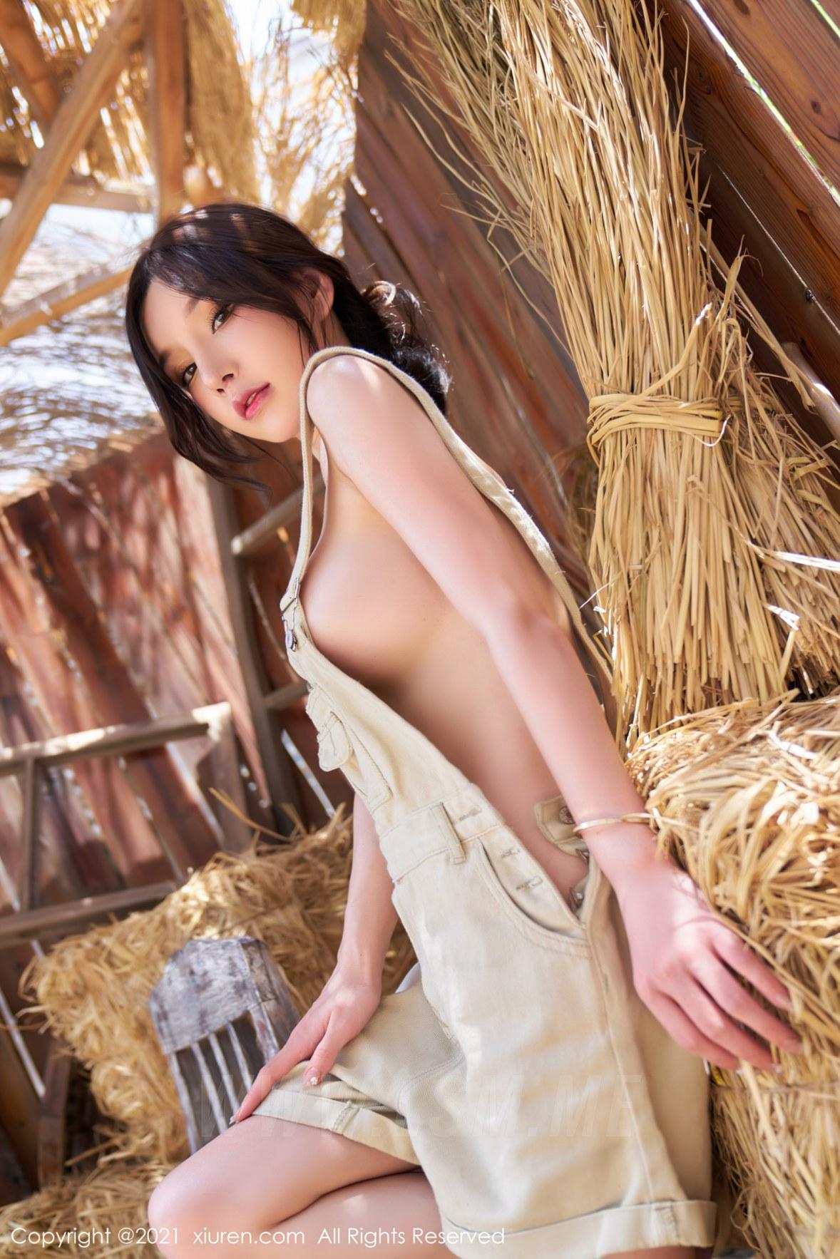 3741 053 8mn 3603 5400 - XiuRen 秀人 No.3741 西部农场风格 周于希Sandy 性感写真111 - 秀人网 -【免费在线写真】【丽人丝语】