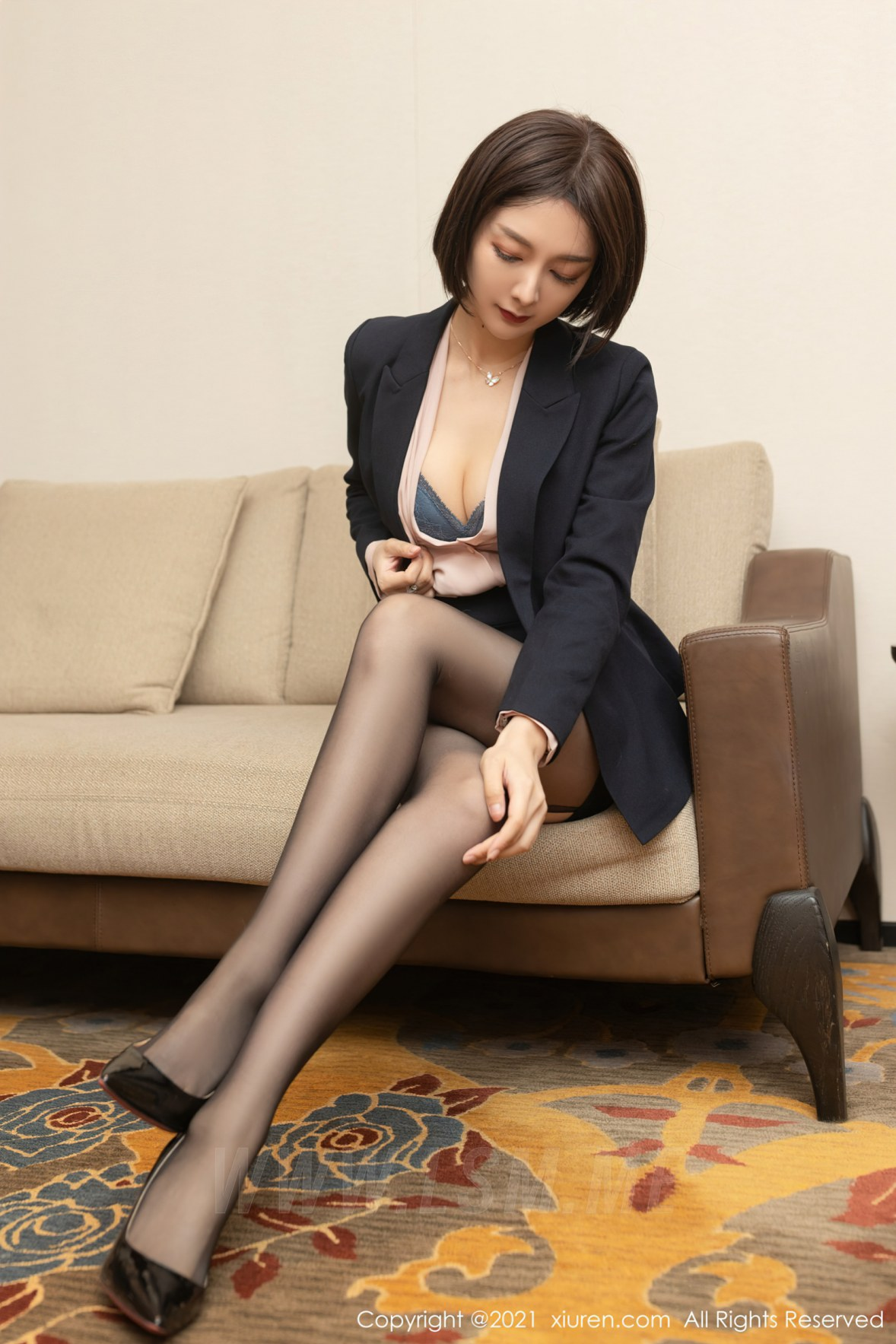 3745 023 bwy 3600 5400 - XiuRen 秀人 No.3745 保险销售主题 Angela小热巴 性感写真33 - 秀人网 -【免费在线写真】【丽人丝语】