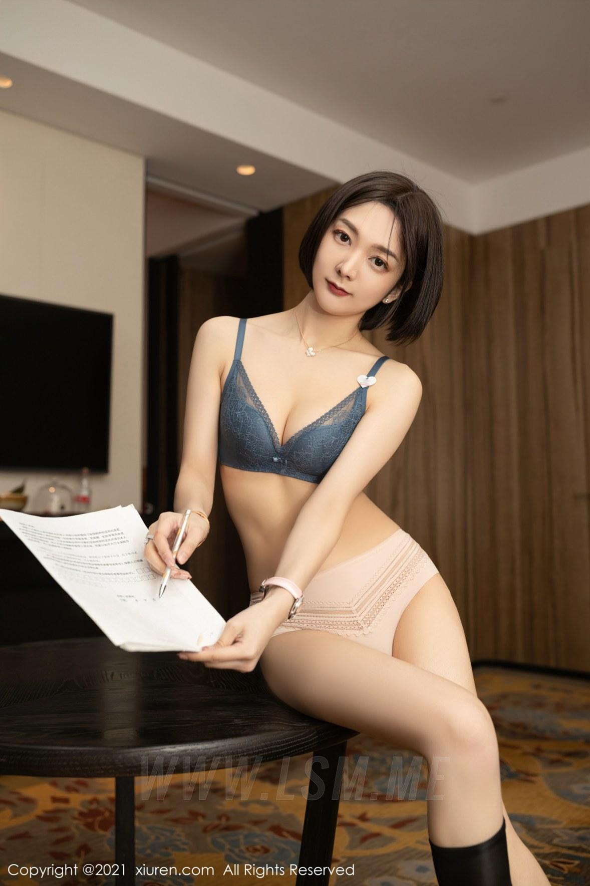 3745 071 fmh 3600 5400 - XiuRen 秀人 No.3745 保险销售主题 Angela小热巴 性感写真33 - 秀人网 -【免费在线写真】【丽人丝语】