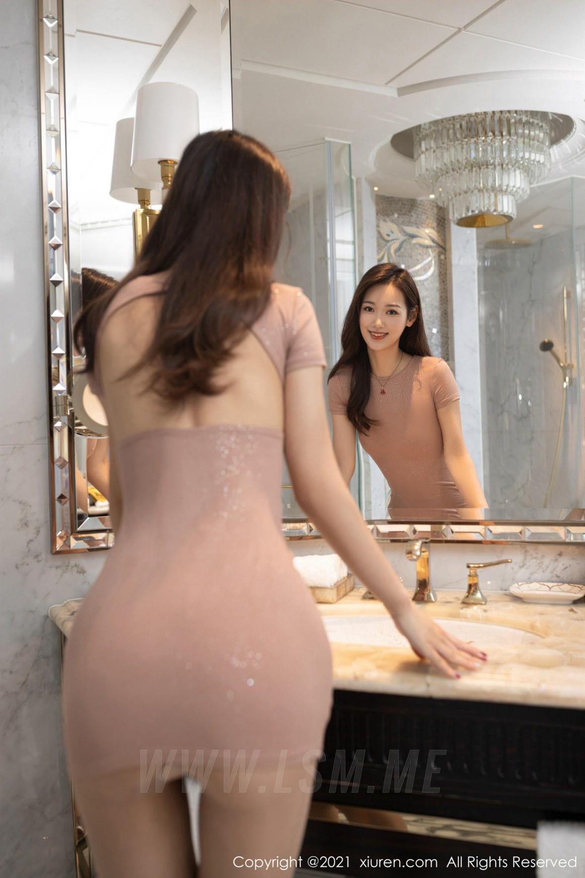 3780 010 atf 3600 5400 - XiuRen 秀人 No.3780 裸色裙主题系列 唐安琪 澳门旅拍写真22 - 秀人网 -【免费在线写真】【丽人丝语】