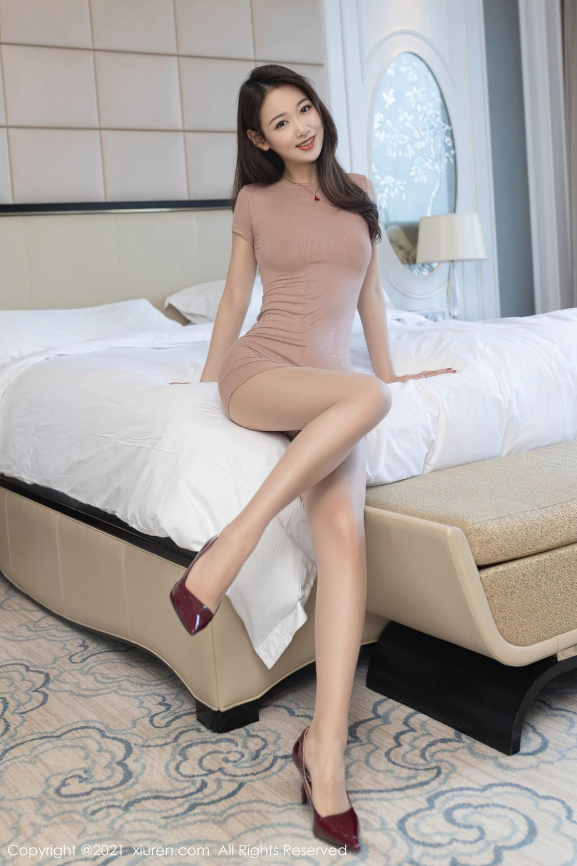 3780 013 kx6 3600 5400 - XiuRen 秀人 No.3780 裸色裙主题系列 唐安琪 澳门旅拍写真22 - 秀人网 -【免费在线写真】【丽人丝语】