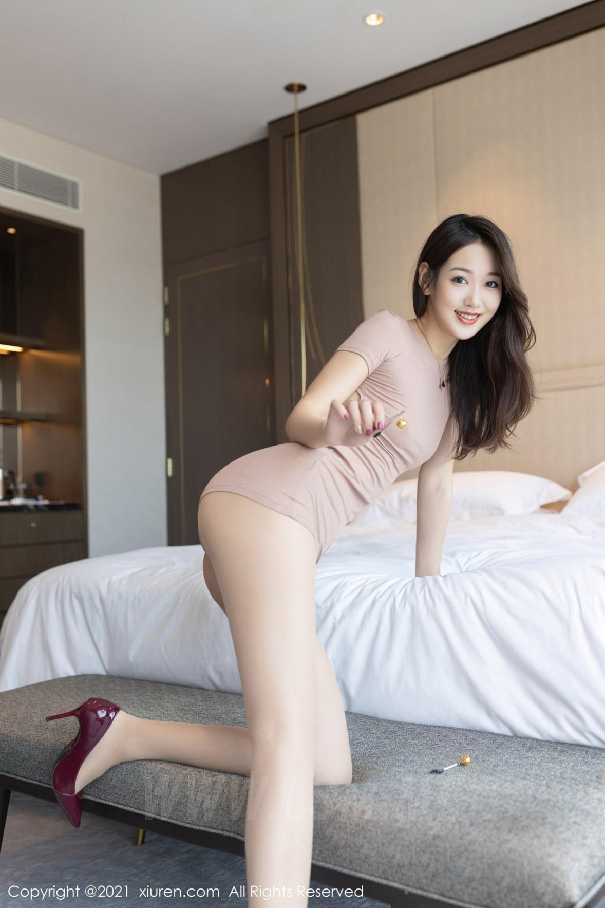 3780 037 3em 3600 5400 - XiuRen 秀人 No.3780 裸色裙主题系列 唐安琪 澳门旅拍写真22 - 秀人网 -【免费在线写真】【丽人丝语】