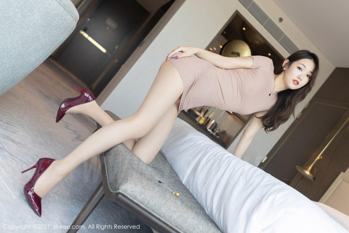 3780 041 bjk 5400 3600 - XiuRen 秀人 No.3780 裸色裙主题系列 唐安琪 澳门旅拍写真22 - 秀人网 -【免费在线写真】【丽人丝语】