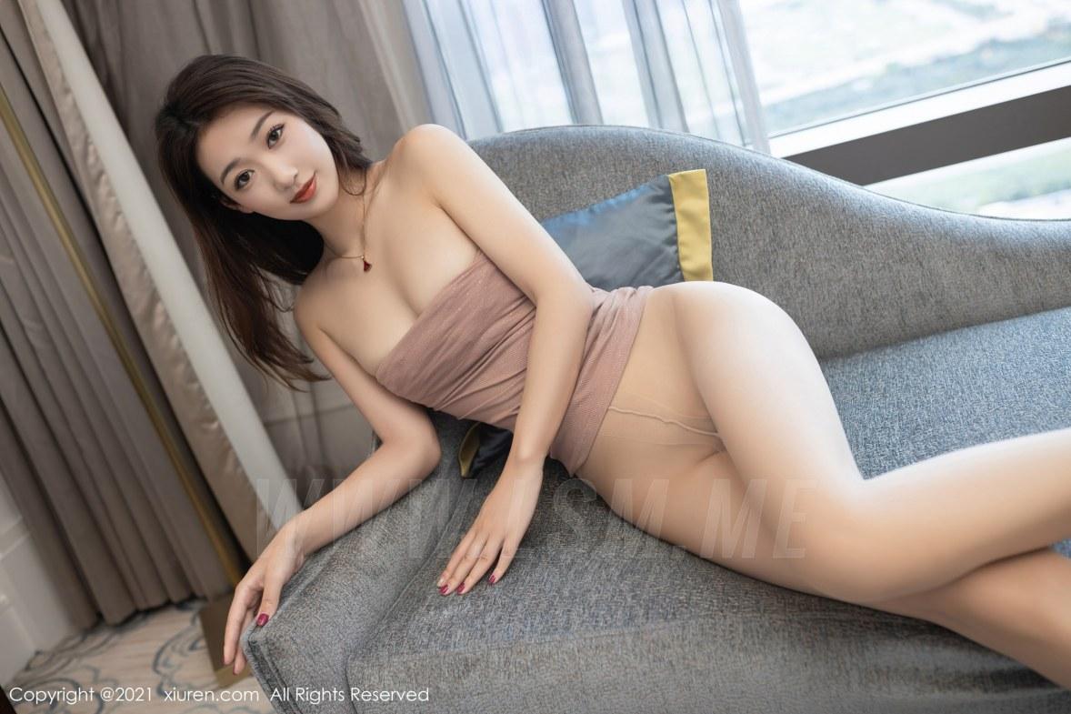 3780 056 jrr 5400 3600 - XiuRen 秀人 No.3780 裸色裙主题系列 唐安琪 澳门旅拍写真22 - 秀人网 -【免费在线写真】【丽人丝语】
