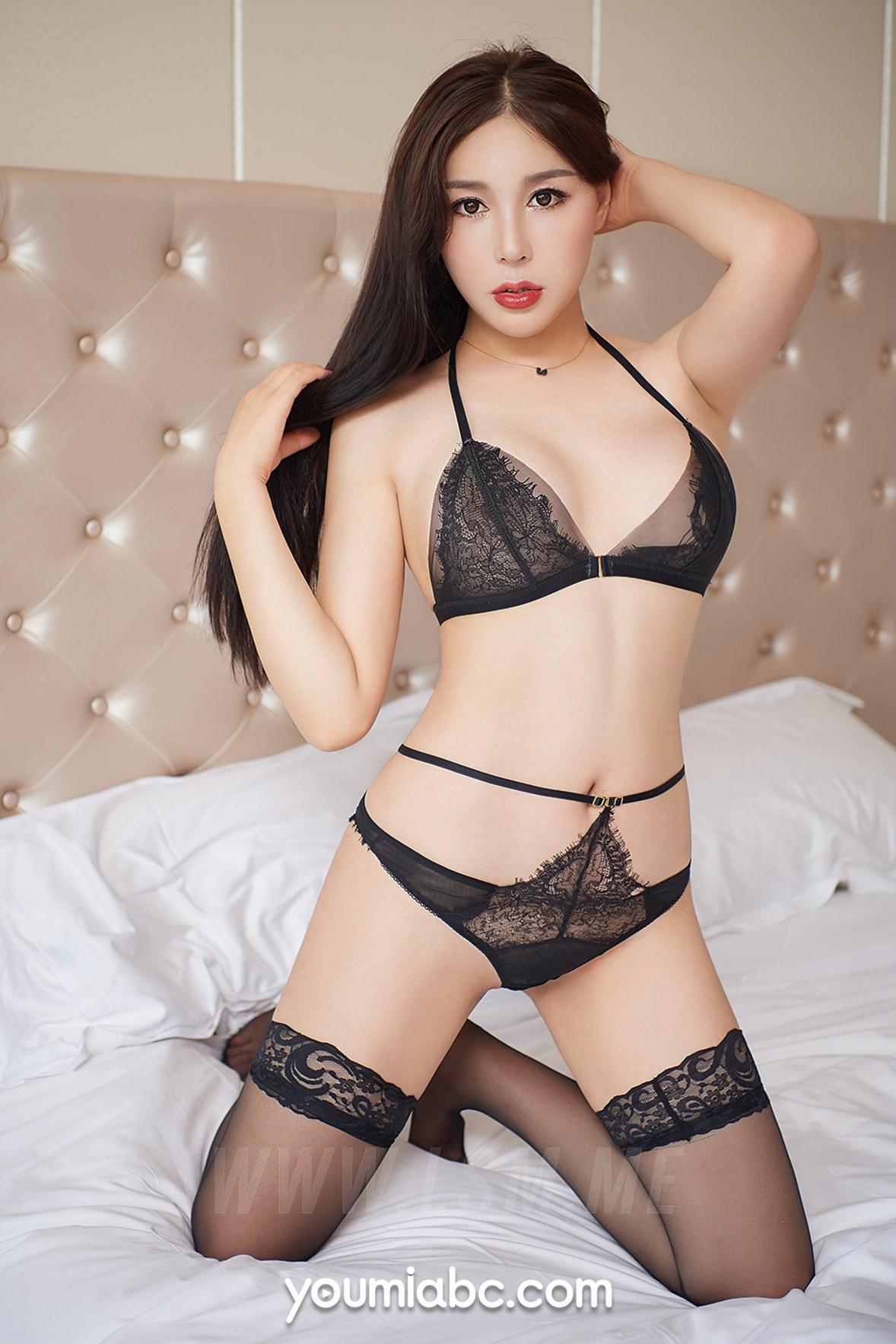 YOUMEI 尤美   李师师 性感女仆 - 4