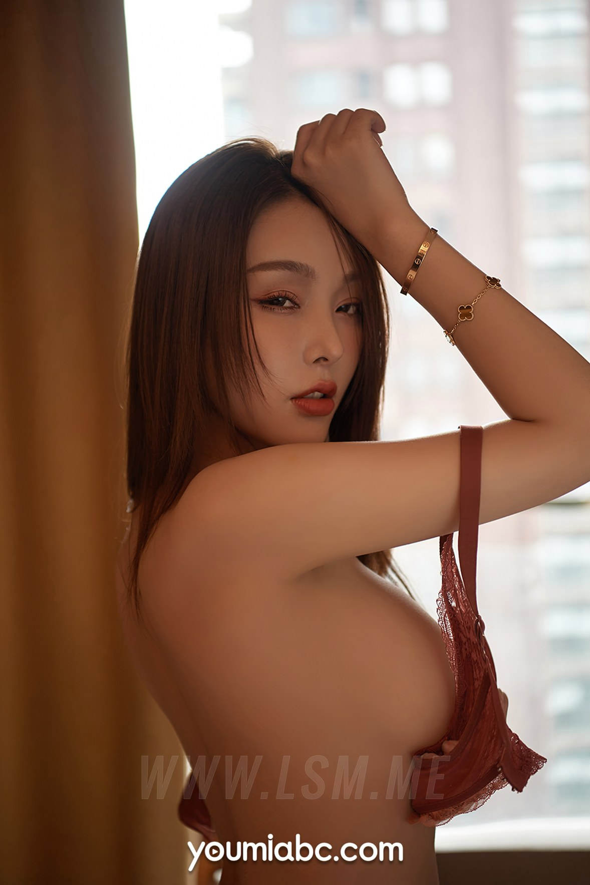 YOUMEI 尤美   陈圆圆 连体衣美女嫩模 - 1