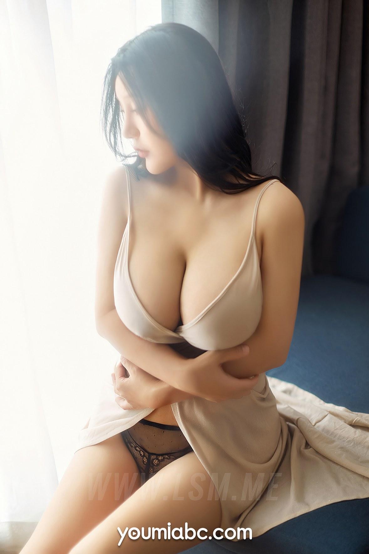 YOUMEI 尤美 h杯陈若初 巨乳诱惑 - 3