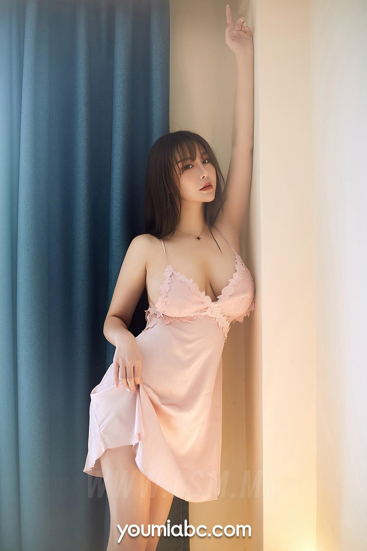 YOUMEI 尤美  费若拉 爆乳睡裙 - 2