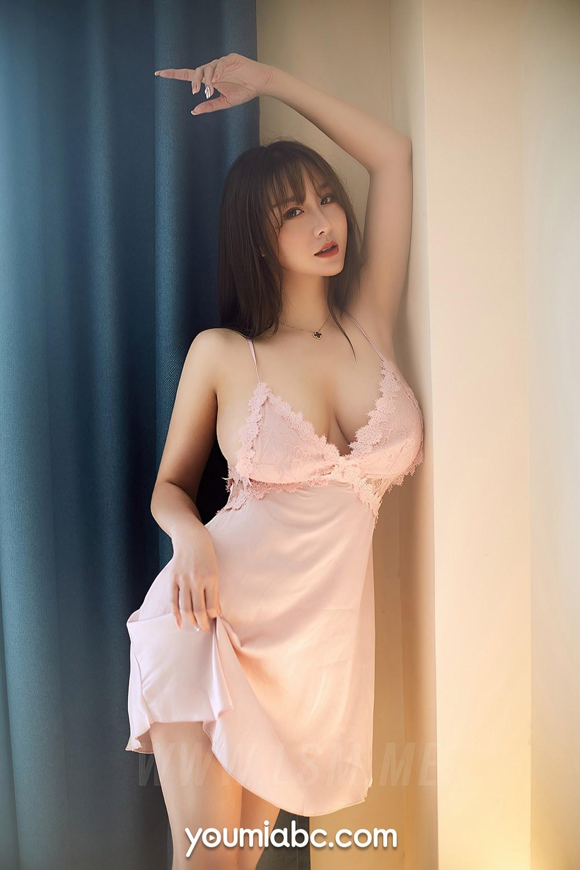 YOUMEI 尤美  费若拉 爆乳睡裙 - 3