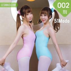 51Modo女神美腿杂志 Vol.002 芭蕾体操女神健身