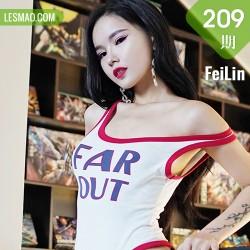 FeiLin 嗲囡囡 Vol.209 翘臀美腿 雯雯Vivi最新写真