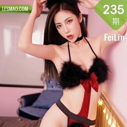 FeiLin 嗲囡囡 Vol.235 贾诗晗 猫耳黑丝