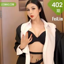 FeiLin 嗲囡囡 Vol.402 职业装黑丝 田冰冰 性感写真