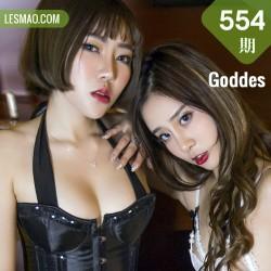 Goddes 头条女神 No.554 Modo 小慧&药药