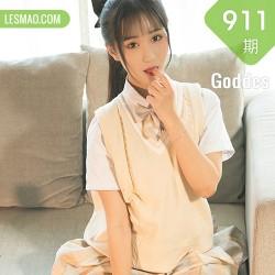 Goddes 头条女神 No.0911 婴宁 清纯少女早上好!