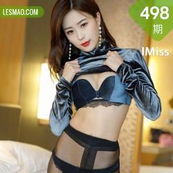 IMiss 爱蜜社 Vol.498 黑丝气质美女 杨紫嫣
