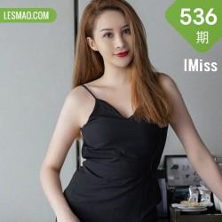 IMiss 爱蜜社 Vol.536 黑丝吊裙玉背 jermy