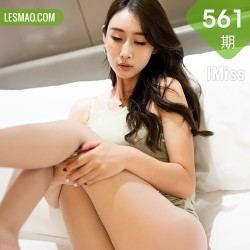 IMiss 爱蜜社 Vol.561 草莓内衣 萌白酱 朦胧丝袜性感写真