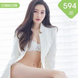 IMiss 爱蜜社 Vol.594 华丽服饰 Vanessa 性感写真