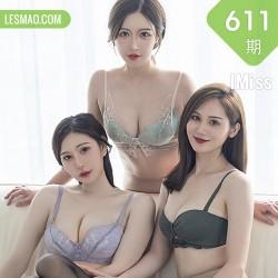 IMiss 爱蜜社 Vol.611 模特合集 Lavinia肉肉、SISY思和LindaLinda 倾...