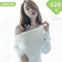 IMiss 爱蜜社 Vol.628 轻透白色上衣 梦心月 心愿旅拍写真2
