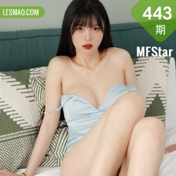 MFStar 模范学院 Vol.443  绸缎吊裙  桃香子 新人模特