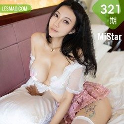 MiStar 魅妍社 Vol.321 粉色JK制服装扮 果儿Victoria OL写真