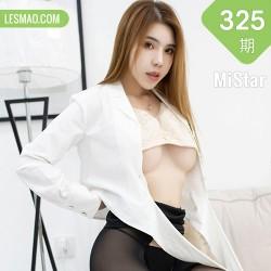 MiStar 魅妍社 Vol.325 韩冰冰儿 酥胸黑丝