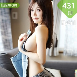 MyGirl 美媛馆 Vol.431 童颜巨乳 糯美子Mini 性感牛仔系列