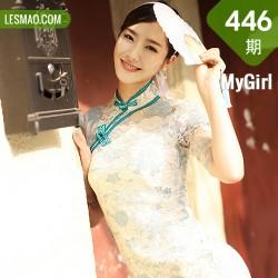 MyGirl 美媛馆 Vol.446 现代旗袍和肉丝 方子萱
