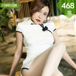 MyGirl 美媛馆 Vol.468 洁白韵味旗袍 绮里嘉ula