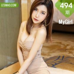 MyGirl 美媛馆 Vol.494 吊裙娇躯美腿 梦绮