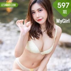MyGirl 美媛馆 Vol.597 户外山涧溪水 绮里嘉Carina 长三角旅拍111