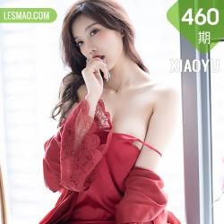 XIAOYU  语画界 Vol.460 杨晨晨 红色蕾丝大衣