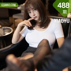 XIAOYU  语画界 Vol.488 真空黑短裙丝袜 奈沐子 第三套写真