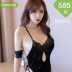 XIAOYU  语画界 Vol.585 林星阑黑色镂空吊裙2