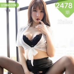 XiuRen 秀人 No.2478  白衬衫黑短裙ol 周于希sandy