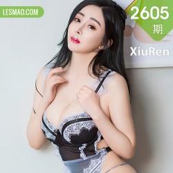 XiuRen 秀人 No.2605   f杯美女 允爾  新人模特