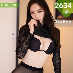 XiuRen 秀人 No.2634  梦心月 高挑娇躯黑丝