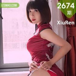 XiuRen 秀人 No.2674  安妮斯朵拉 第四弹 妩媚堕落天使旗袍装